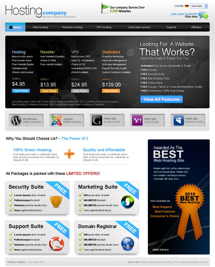 TemplateSpin - Web Templates