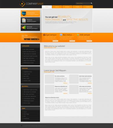 Long Side Business Template